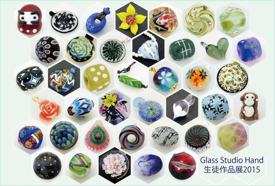 Glass Studio Hand生徒作品展 2015